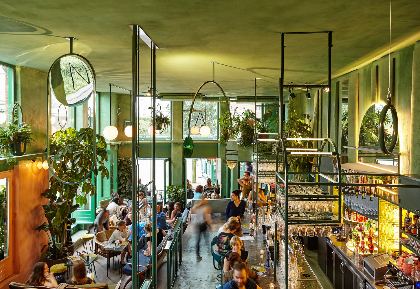 Bar Botanique In Amsterdam By Studio Modijefsky