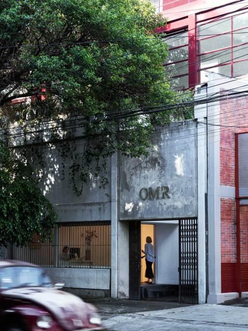 Gallería OMR in Mexico City by Mateo Riestra, José Arnaud-Bello & Max von Werz   Yellowtrace