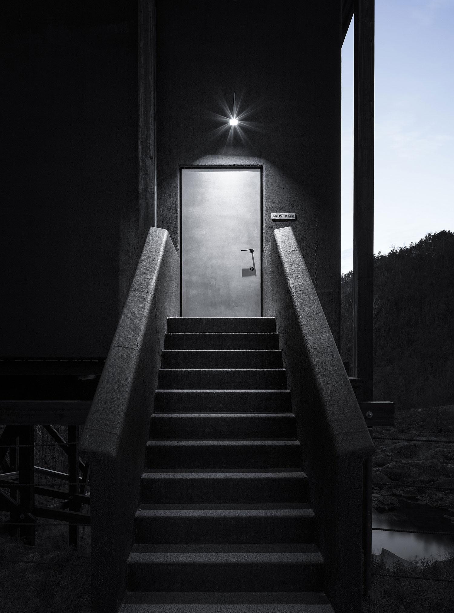 peter zumthor 39 s allmannajuvet zinc mine museum in sauda norway. Black Bedroom Furniture Sets. Home Design Ideas