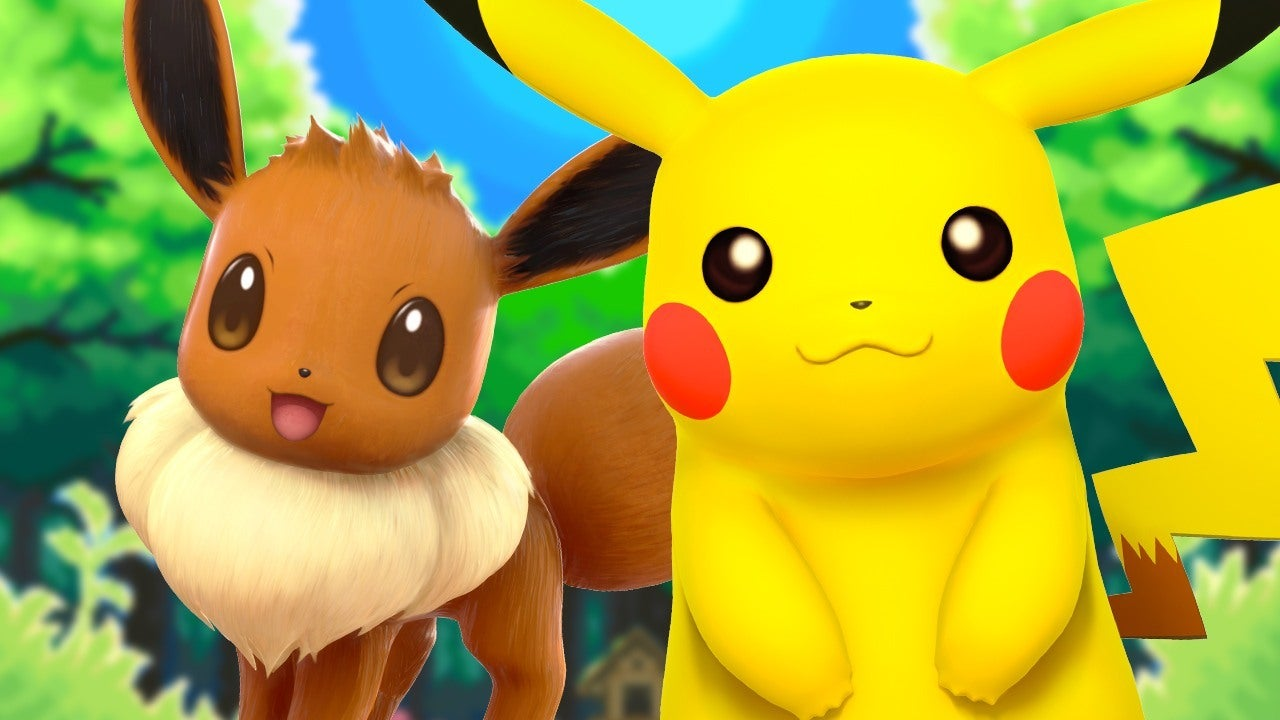 E3 2018  New Pokemon Let s Go Pikachu and Eevee Gameplay Details   IGN