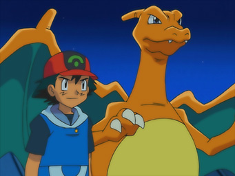 pokemon 8. sezon charizard