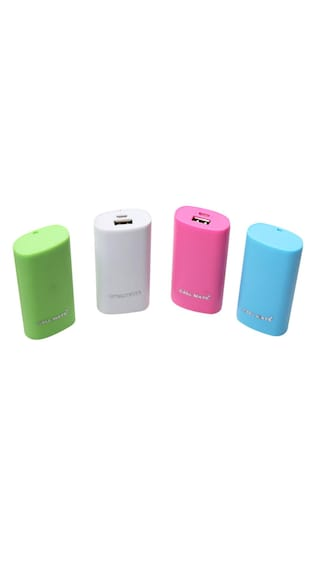 Callmate Power Bank Round Candy 5200 mah - Assorted Color