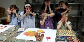 Arts plastiques enfant (avec Liane)