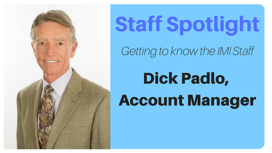 2017-10-31 staff spot light - Dick Padlo