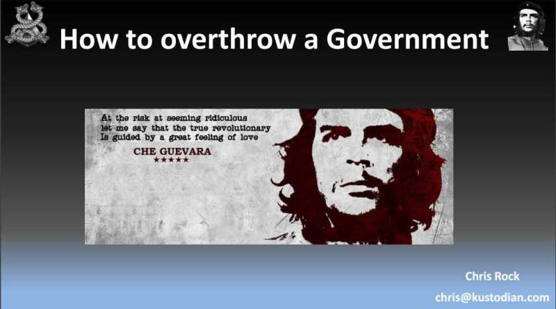 Overthrow a government
