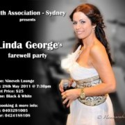 Linda George's Farewell party