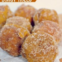 Pumpkin Spice Baked Donut Hole Recipe