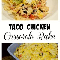 Mexican Chicken Taco Bake