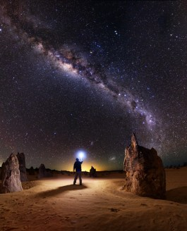 How I take an astrophotography self portrait