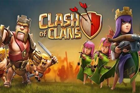 clash of clan sur facebook