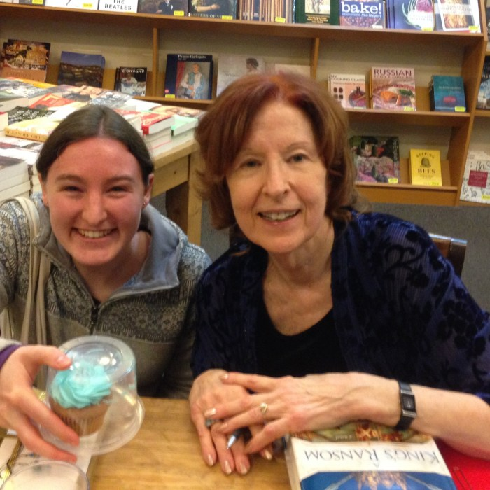 Dream come true: Meeting my favorite and most influential author!