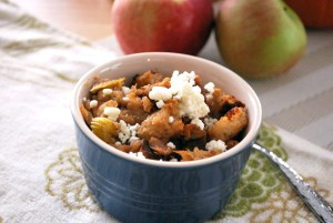 Apple Sage & Goat Cheese Stuffing