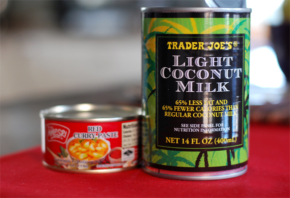 Coconut Milk & Curry Paste