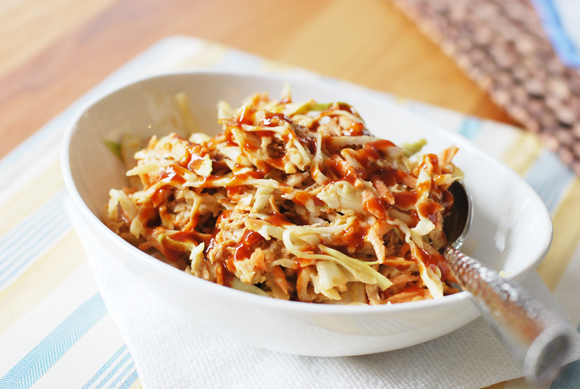 BBQ Chicken Cole Slaw