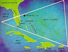 Ubicación geográfica del Triángulo de las Bermudas
