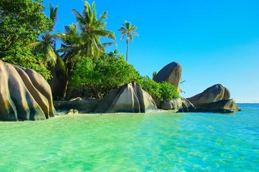 Shore stones rocks