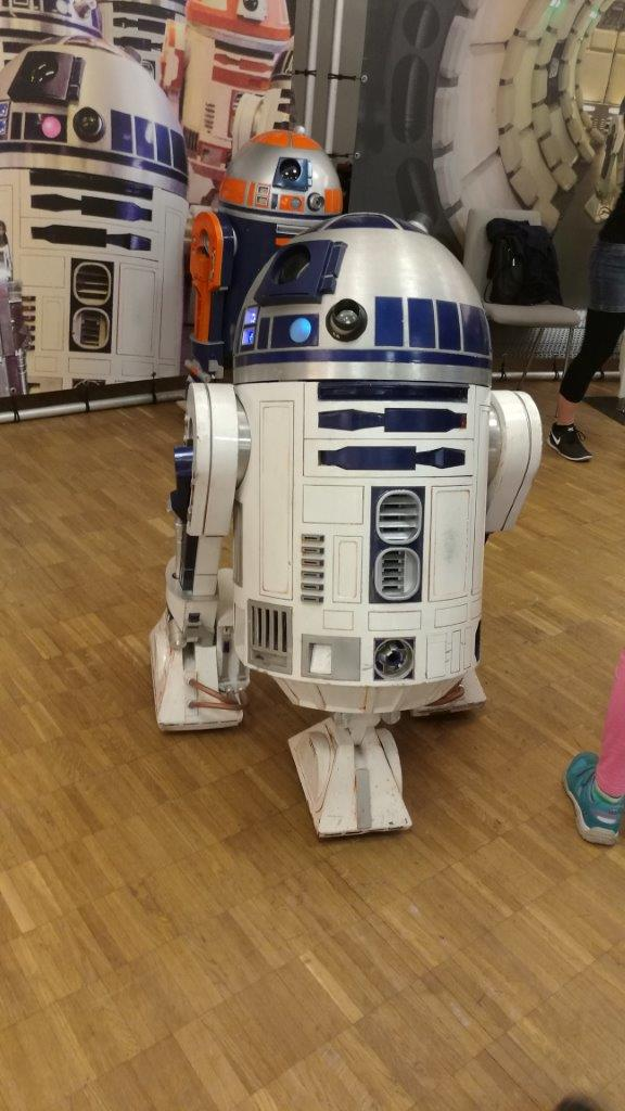 R2D2 - MakerFaire 2016 Hannover