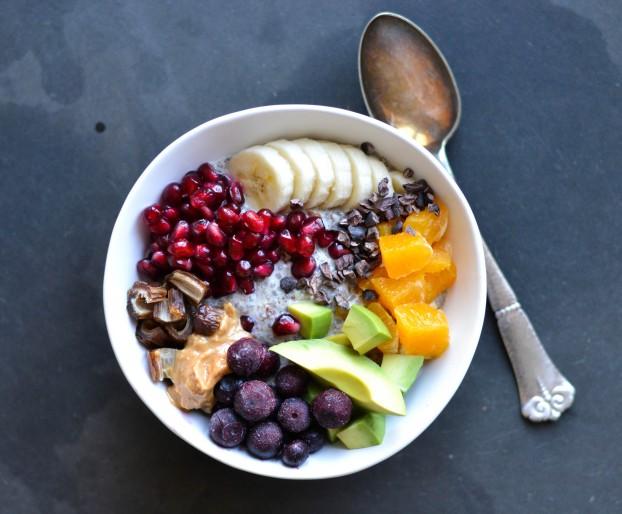 Sweet breakfast bowl - A tasty love story