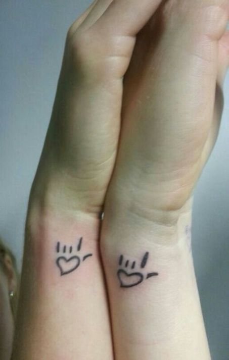 Best friend tattoo ideas for boy and girl