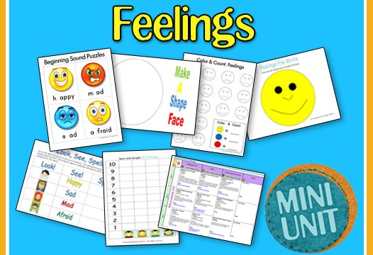 My Feelings Printables