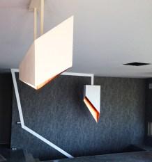 Corp de iluminat geometric suspendat