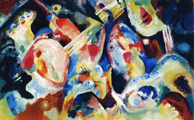 Wassily-Kandinsky-Improvisation-Sinflut-1913
