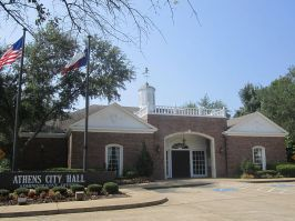 Athens Texas City Hall