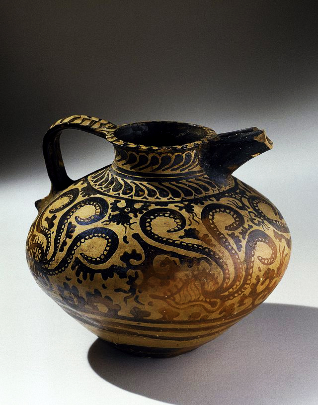 Minoan Decorated Jug, ca. 1575-1500 B.C.E
