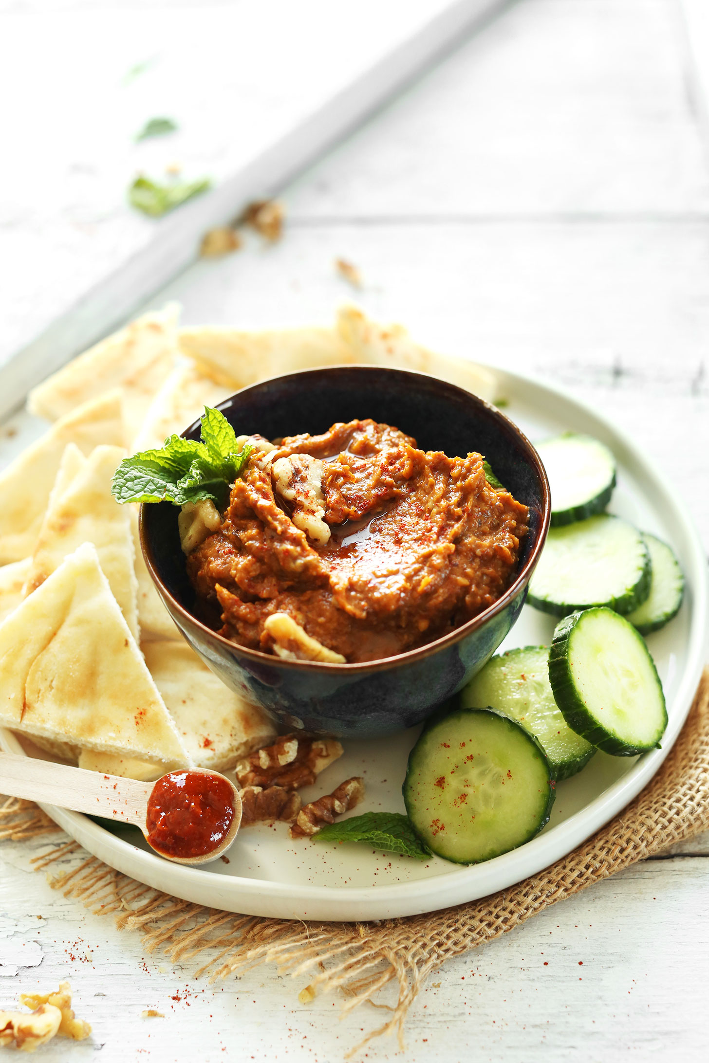 Smoky-Harissa-Eggplant-Dip-Creamy-smoky-spicy-The-perfect-appetizer-or-side-vegan-glutenfree-dip-eggplant-recipe-appetizer
