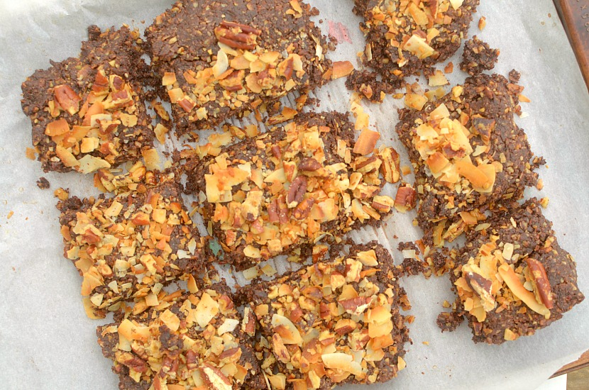 german chocolate cake breakfast bars 2