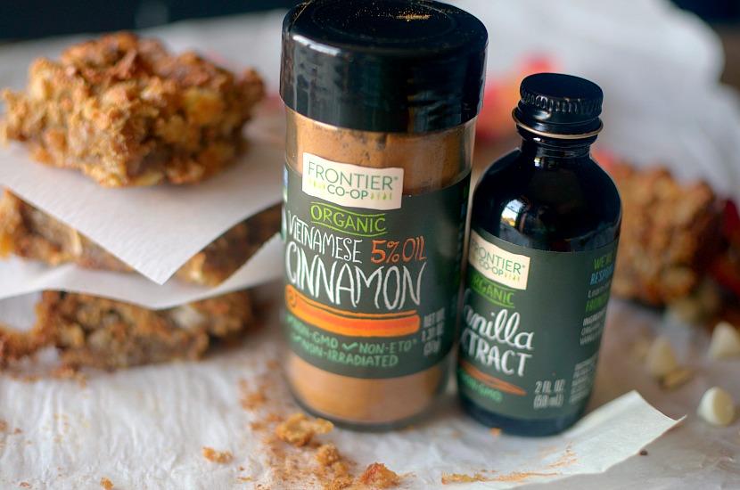 Gooey Flourless Cinnamon Toffee Blondies {Gluten-Free, Paleo + Vegan ...