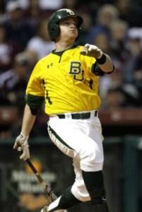 Stockton Ports' First Baseman Max Muncy (2 Home Runs / 4 RBIs)