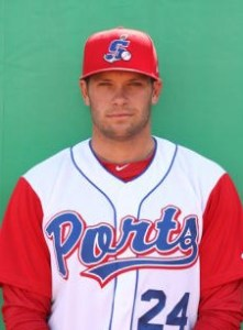 Stockton Ports Outfielder Bobby Crocker (2 Home Runs / 3 RBIs)