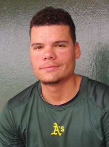 A's Farmhand Of The Day: Stockton Ports Catcher Bruce Maxwell (Home Run / 3 RBIs)