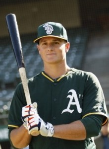 Third baseman Matt Chapman led all A's minor leaguers with 23 home runs for Stockton.