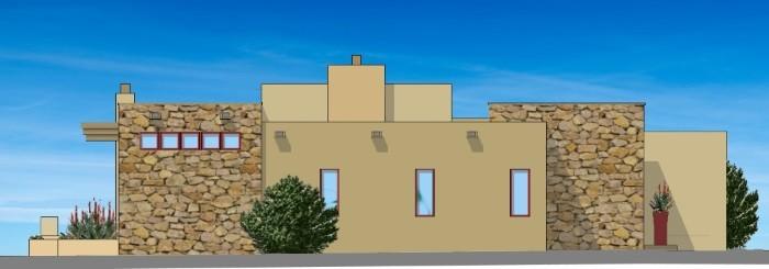 Santa Fe Modern House Design