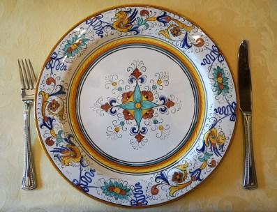 Paci Torgiano Italy Dinner Plate