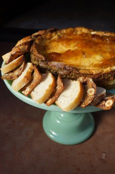 Savory Goat Cheese Cake (Summer Solstice Party)