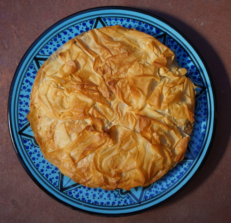 The preparation of this Bastilla might be slightly Americanized but the taste is purely Moroccan.