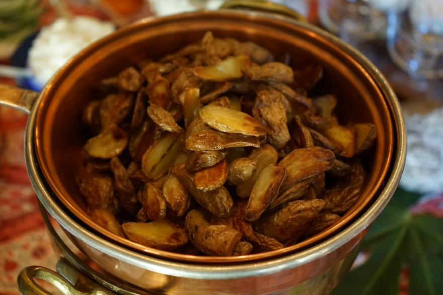 Roasted Fingerling Potatoes (New Year's Day Brunch)