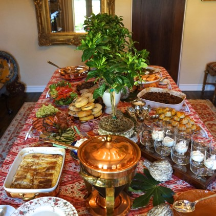 New Year's Day Brunch: Tabletop