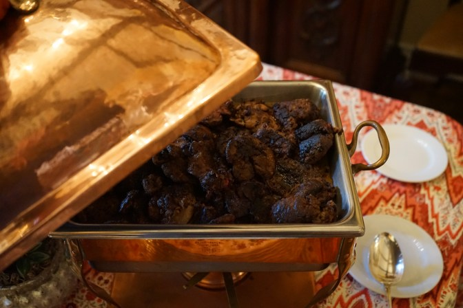 Chicken Livers with Mushrooms