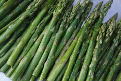 Roasted Asparagus (as part of Roasted Vegetable Salad).