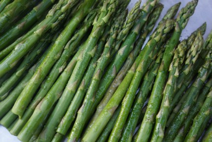 Roasted Asparagus (as part of Roasted Vegetable Salad).