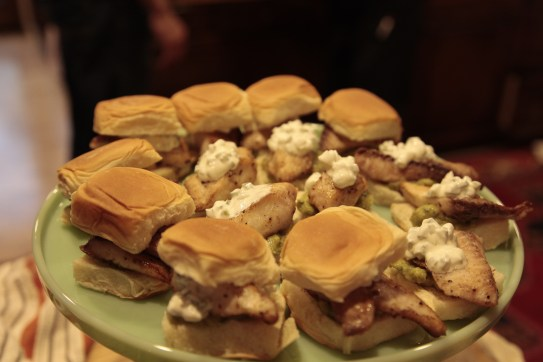 Mexican Fish Sliders: My idea of fun and absolutely delicious bar food!