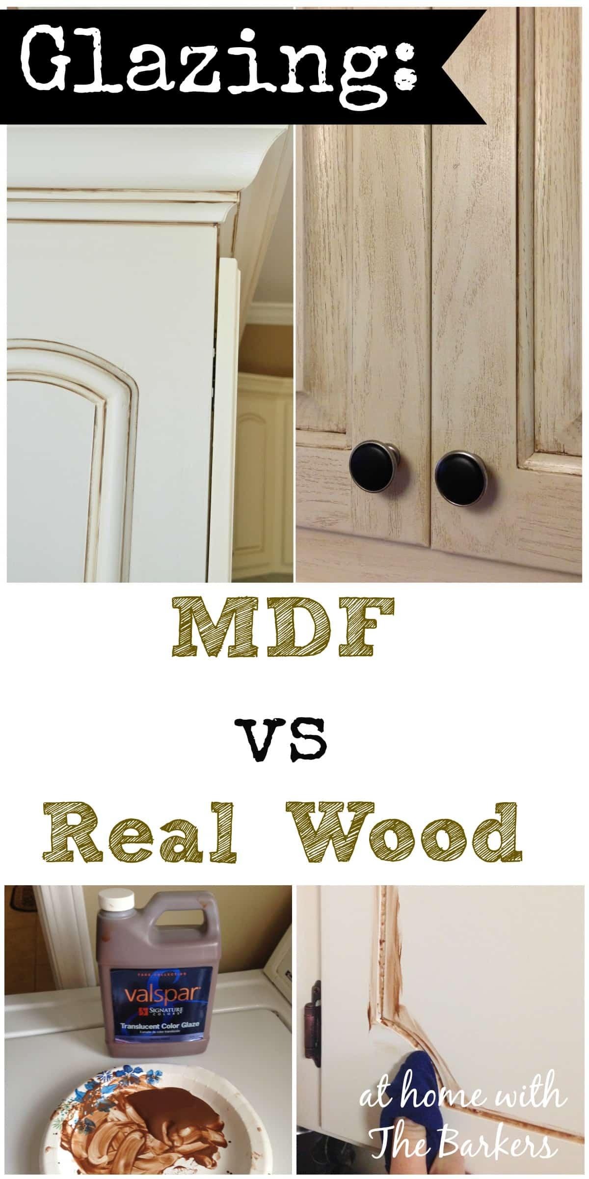 glazing mdf versus real wood mdf kitchen cabinet doors