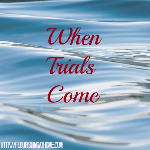 "Snippets From God's Word Series: ""When Trials Come"""