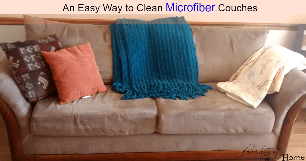 An Easy Way to Clean Microfiber Couches
