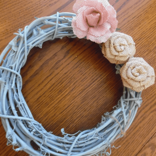 Spring Wreath Blue