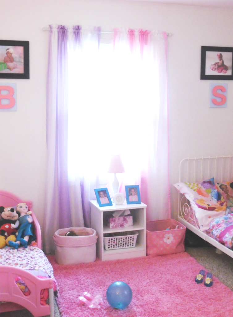 girls room shared space